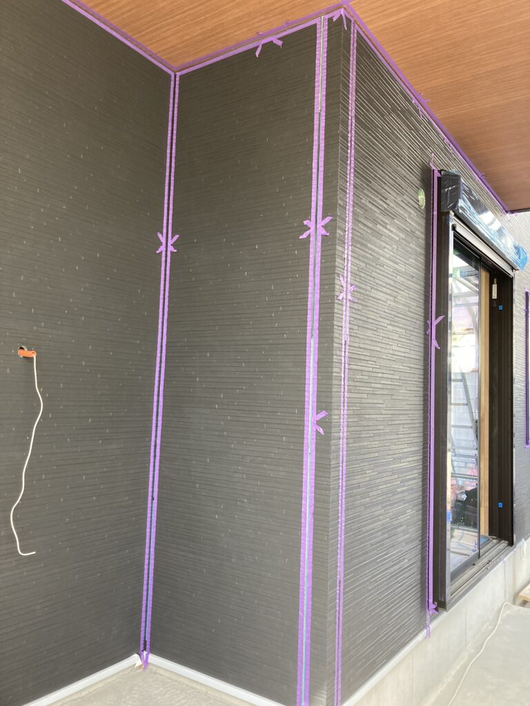 外壁のサイディング&コーキング!